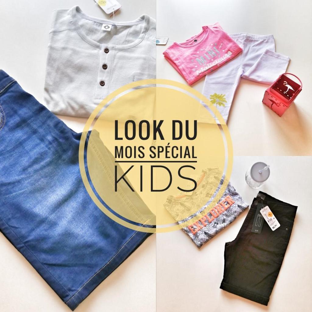 Mode : le look du mois d'Aôut Spécial Enfants