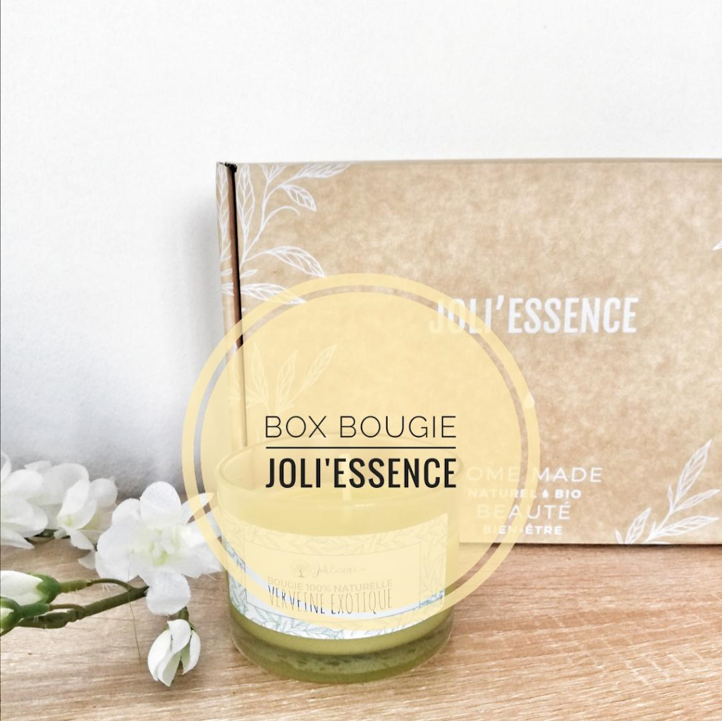 J'ai testé : la box bougie by Joli'Essence