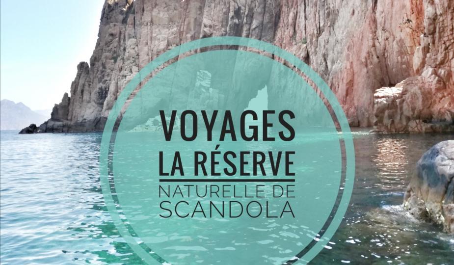 La réserve naturelle de Scandola