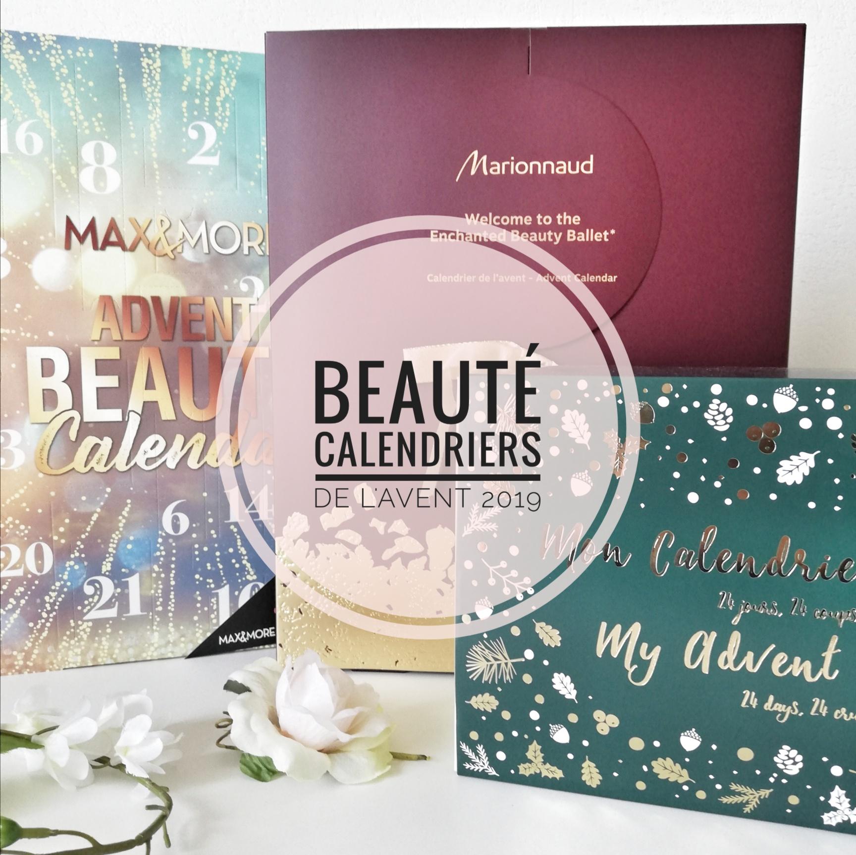 Beauté : calendriers de l'avent 2019