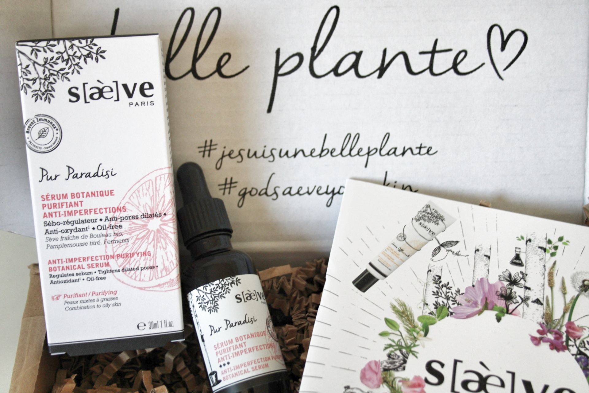 J'ai testé : le sérum anti imperfections Saeve