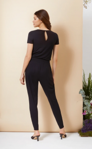 The Lana Jumpsuit noir