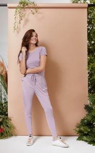 The Lana Jumpsuit pale lilac