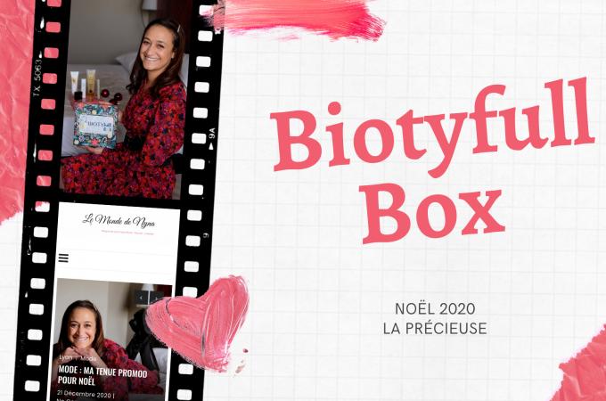 Biotyfull Box décembre 2020 : la Précieuse