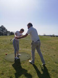 Initiation golf lyon