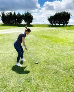 je débute le golf